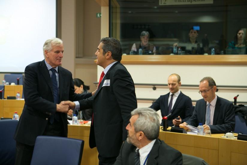 Με Επίτροπο M. Barnier 2